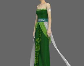 3D model Indonesia Zhou Hwa Jawa Traditional