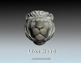 Lion Head 3D printable model