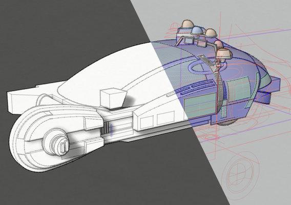 Bladerunner Spinner (Original) [work in progress]
