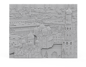 Moscow sight panel 3D print model