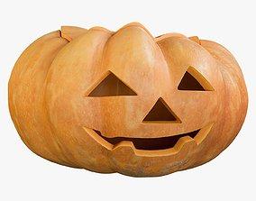 Pumpkin Clean 1 Emotion 2 3D asset