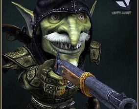 Goblin Bandit 3D asset