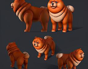 3D asset Red Dog