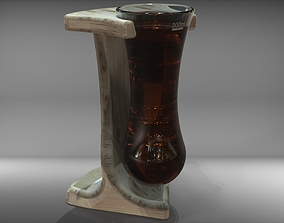 Bottomless glass 3D model