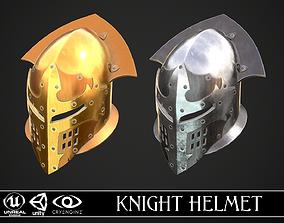 Knight Helmet 07 3D asset
