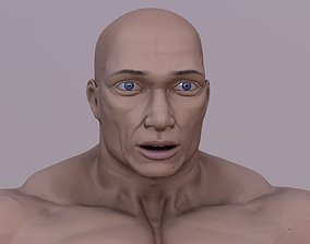 3D model strong male