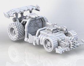 3D printable model Greenskin War Racing Car