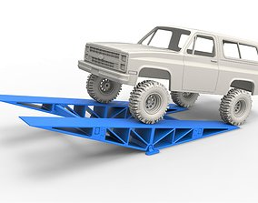 Bridge for diecast RC cars Scale 1 to 3D printable model