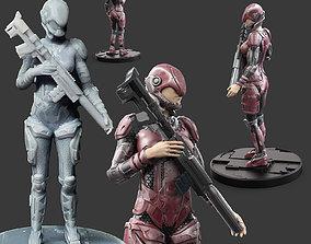 3D print model RX-15 Scifi Troop Character
