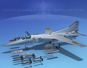 3D model MIG-27 Flogger Sri Lanka