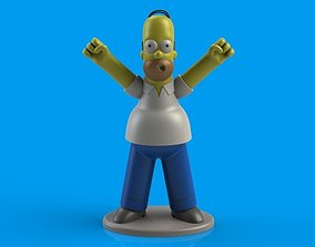3D print model Homer Simpson