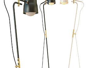3D model Ram flor floor lamp