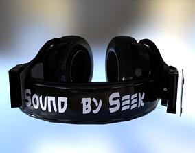 3D asset Beats Sound Seek Headphone