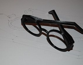 Harry Potter Glasses - with hinges 3D print model