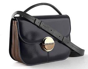 TUK Shoulder Bag 3D model leather