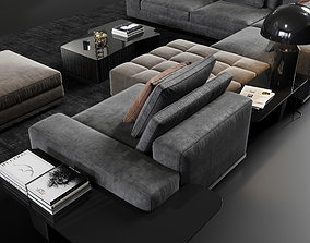 Minotti Lawrence Set 3D