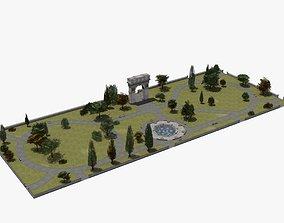 City Park 3D leaf