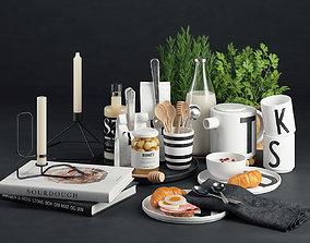 3D Nordic Breakfast Set