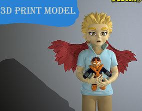 hawks Keigo Takami young 3D printable model