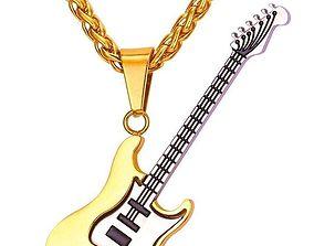 3D printable model Guitar jewelry