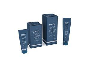 3D Blue Cosmetics