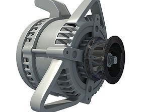 3D model Automobile Alternator