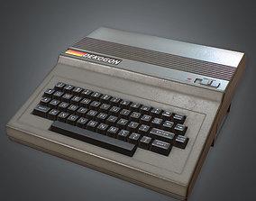80s - Typing Computer 01 3D asset