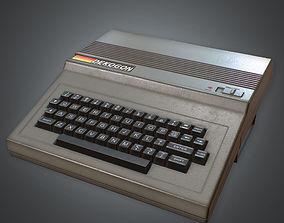 Typing Computer 01 80s 3D asset
