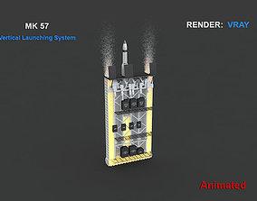 MK 57 Vertical Launching System 3D model