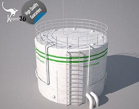 Bio Ethanol Tank 3D asset