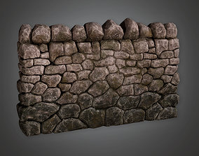 3D model Outdoor Wall 03 - GFS - PBR Game Ready