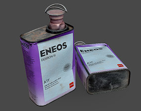 3D model Transmission Fluid Can