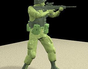 3D British Soldier re-built