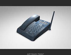 3D model Telephone 01