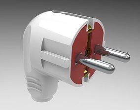 3D model Electric plug mk 3b interior