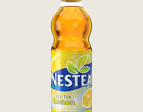 Nestea Drink Plastic Bottle 3D asset