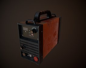 Game low poly Welding machine 3D model