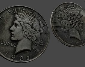 3D asset Two Faces Coin