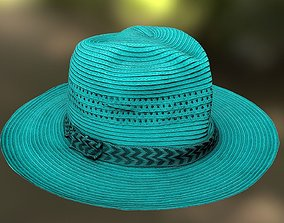 Hat low-poly 3D model realtime