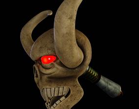 3D Skull Wand