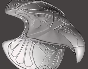 Stargate Horus Cosplay Headpiece 3D print model