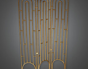 3D model Room Divider 01 Art Deco - DKO - PBR Game Ready
