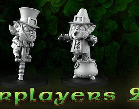 3D printable model starplayers 2 leprechauns