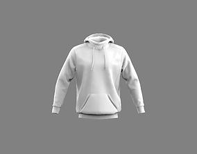 Mens hoodie sweatshirt Marvelous Designer 3D