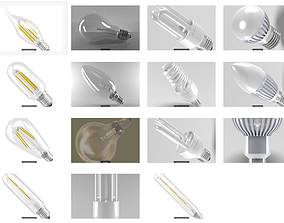 Light Bulbs illumination 3D model