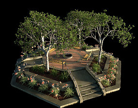 3D Large Octagon Garden Bed with PBR
