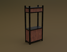 3D asset realtime Trade stand 03 R