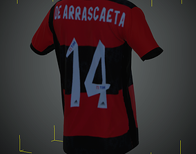 Camisa do Flamengo 2021 3D asset