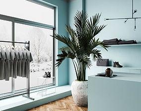 Blue DOF room 3D model