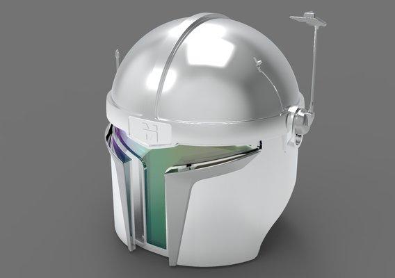 Haho Mandalorian Helmet
